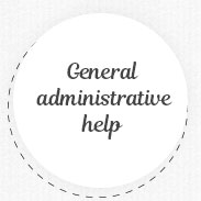 General administrative help